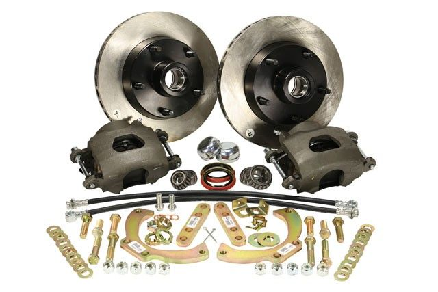1966 Ford F 100 Front Disc Brake Conversion Kit Legend Series