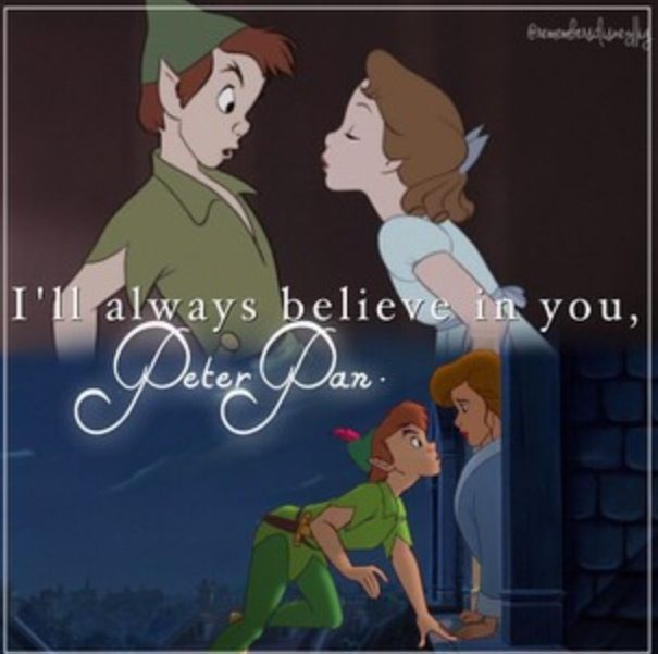 Peter Pan And The Return, My Wendy Became A Mom!