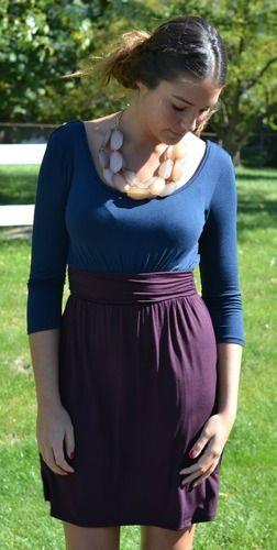 Colorblock Knit, 2 Colors, $47.00
