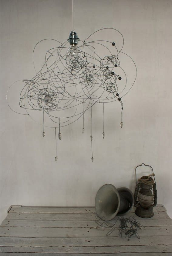 objets fils de fer sculptures et objets nuageux d 39 en fer wire art iron wire et. Black Bedroom Furniture Sets. Home Design Ideas