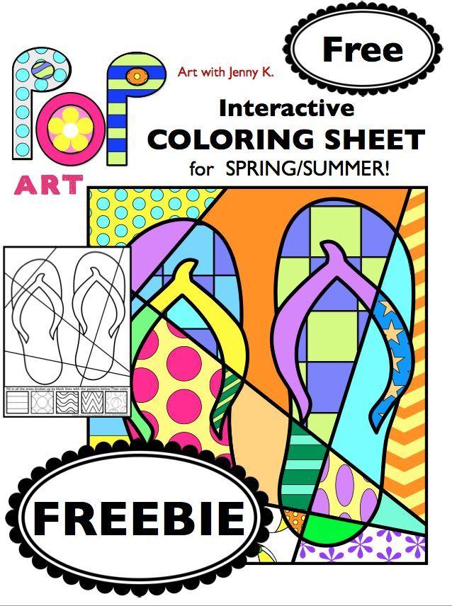 Art with Jenny K | Art lessons elementary, Art classroom ...