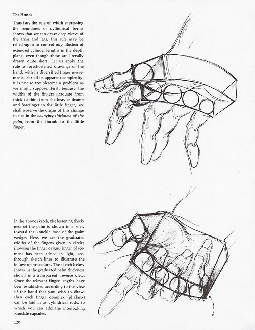 Soullesshusk The Hands From Dynamic Figure Drawing By Burne Hogarth Learn Art Figure Drawing How To Draw Hands