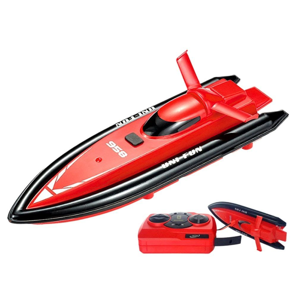 Remote Control Boat Speedboat 2 4ghz Mini Remote Control Rowing