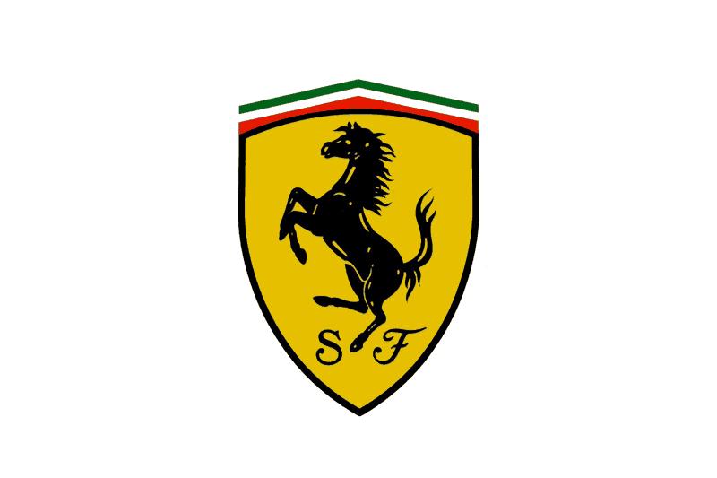 Top 10 Car Logos Car Company Brand Design Inspiration Ferrari Logo Ferrari Ferrari Car