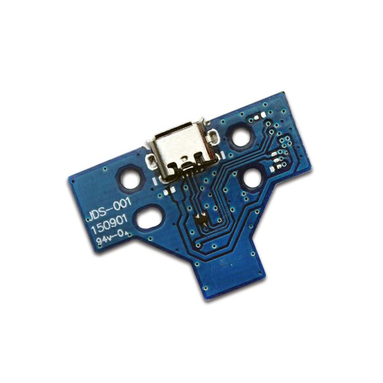 14 Pin Ps4 Controller Usb Charger Pcb Board Blue Ps4 Controller Usb Chargers Pcb Board