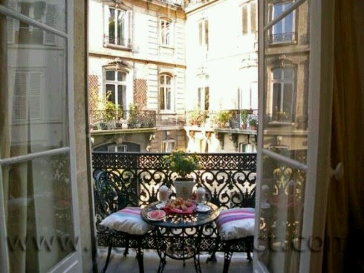 Paris Apartment Balcony Reminds Me Of A Perfect Summer Day In Chicago When I Was Younger Actually