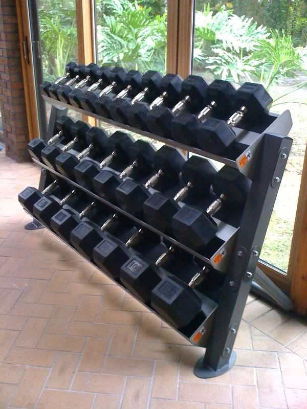 Home gym dumbbell setup crypted molesting chambers in
