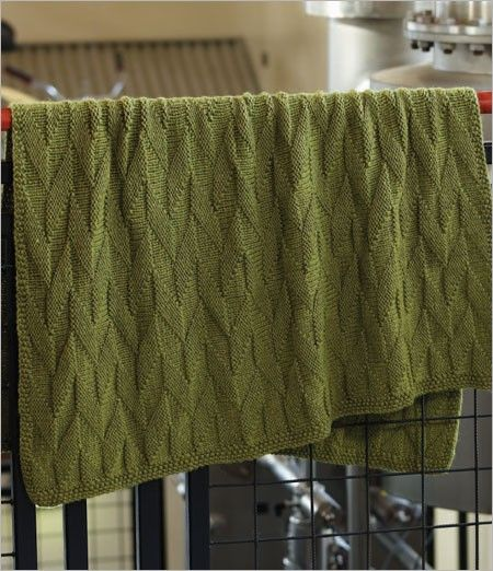Graphic Afghan Knitting Pattern Download