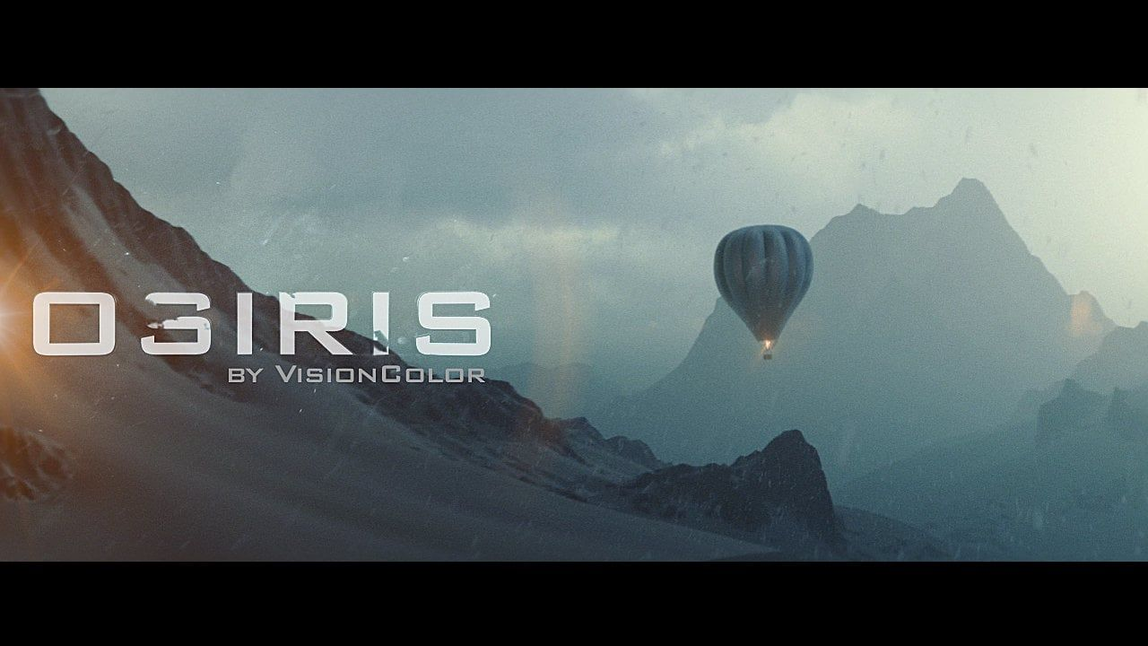 OSIRIS The revolution is here Cinematic Film LUTs that will