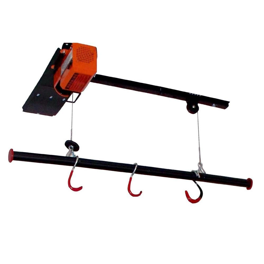 125 Lb. Capacity Motorized Garage Ceiling Storage Lift For