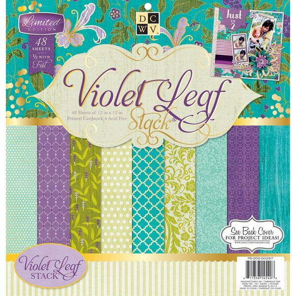 Perfect for all your scrapbooking needs! Contains one 12x12 inch pad with forty-eight single-sided sheets with hints of foil in twenty-four differe...