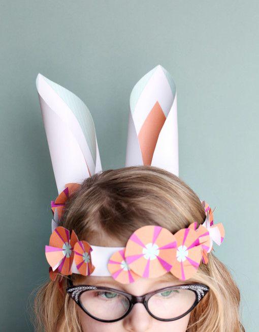 Bunny Ears Amp Top Hat Set Easter Easter Crafts For Kids