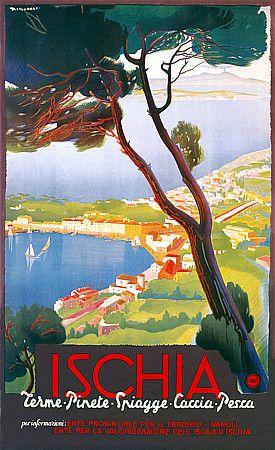 TV70 Vintage 1920/'s A4 Rapallo Genoa Italy Italian Travel Poster Re-print