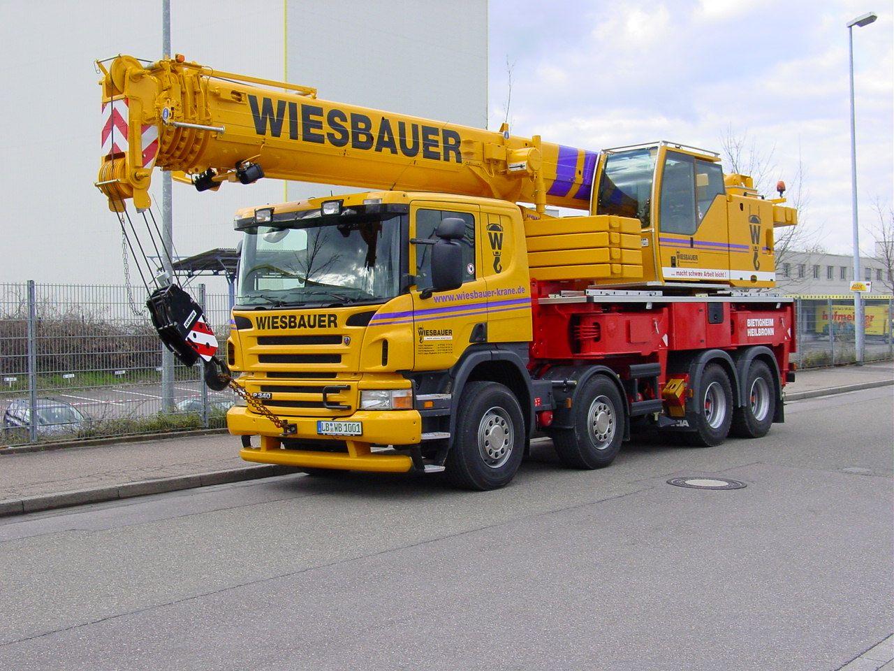 Liebherr LTF1060 on Scania 8x4