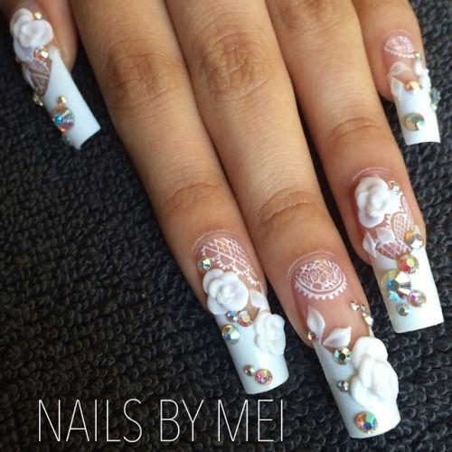 Nailsbymei wedding theme nail art for naild it tv show promo nailsbymei wedding theme nail art for naild it tv show promo prinsesfo Gallery