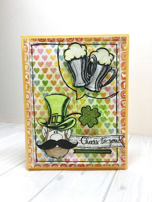 Cheers to You by @maldonadomas for @therubbercafe using @bobunny  #card #stamping #creativecafeKOTM