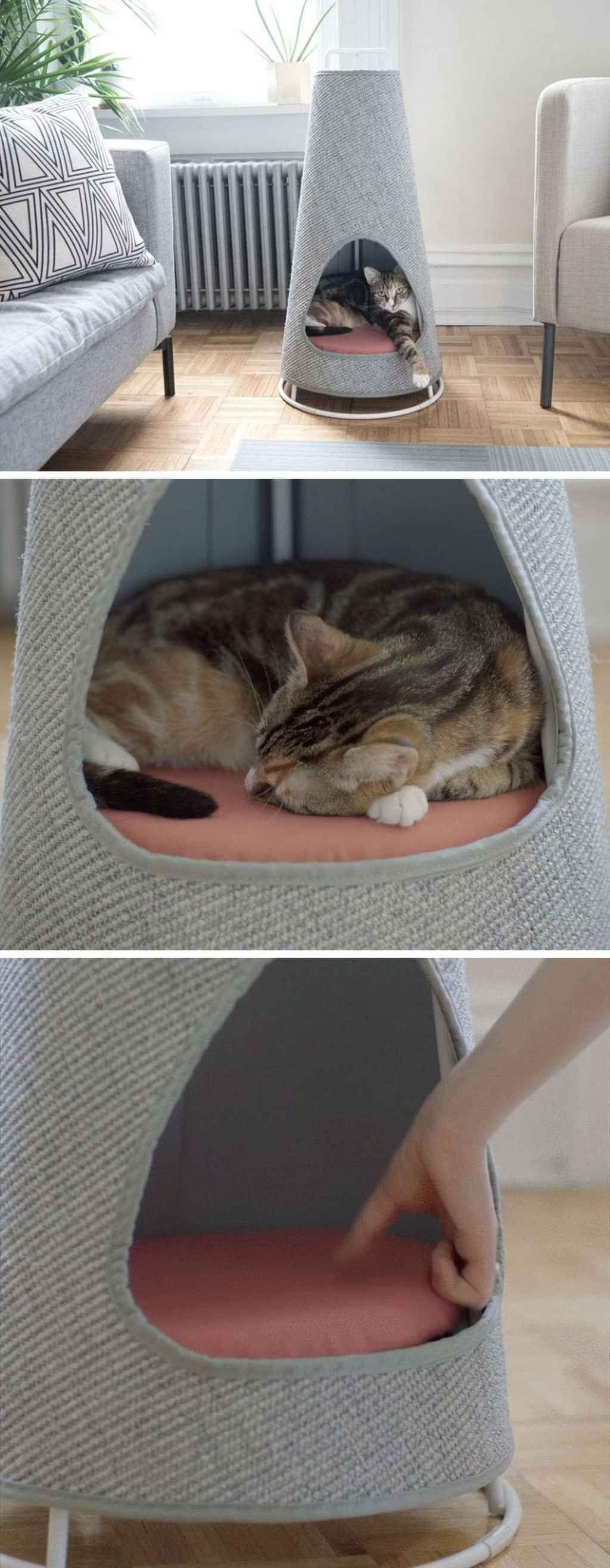 36 Adorable Cat House Pets Design Ideas