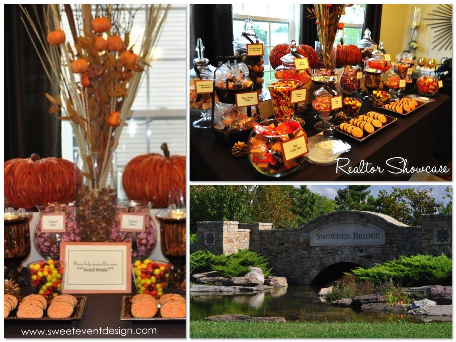 Fall Themed Candy Tables Realtor Autumn Fall Candy