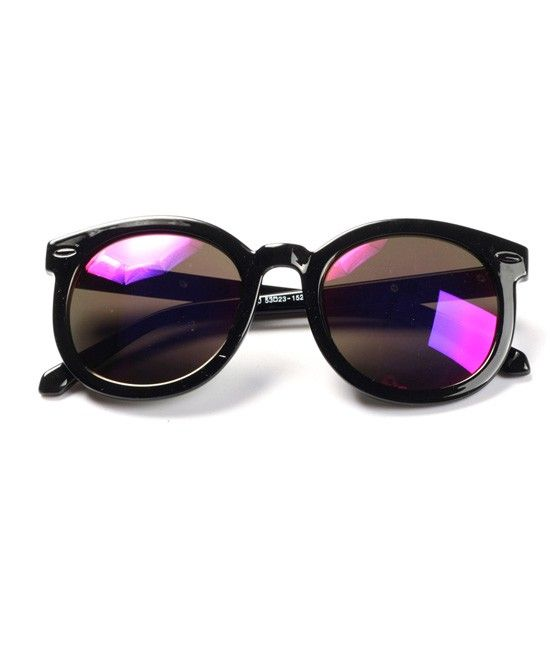 Color Frosted Sunglasses - $23