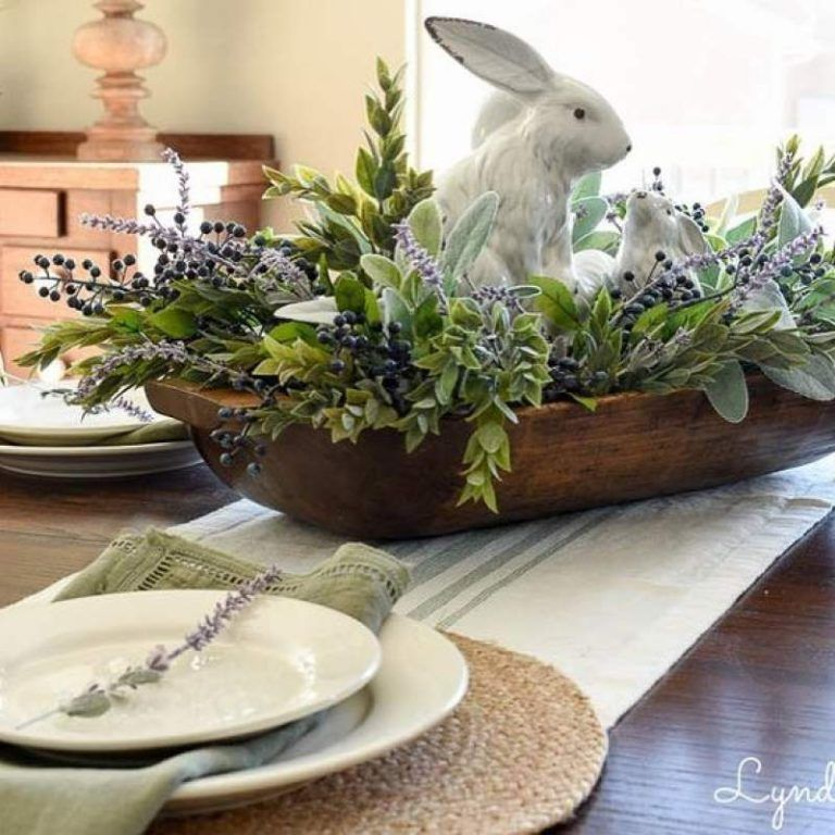 16 Stunning Easter Decoration Ideas With Farmhouse Style | The Unlikely Hostess