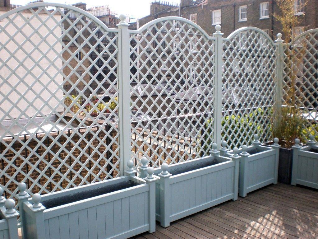 8 Beautiful Party Wall Ideas Wooden Garden Planters Planter Trellis Small Garden Fence