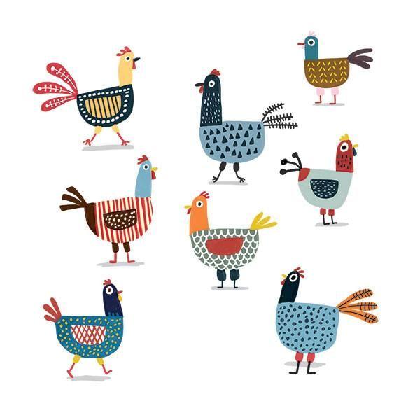 Poules aimants - Photos poules rigolotes ...