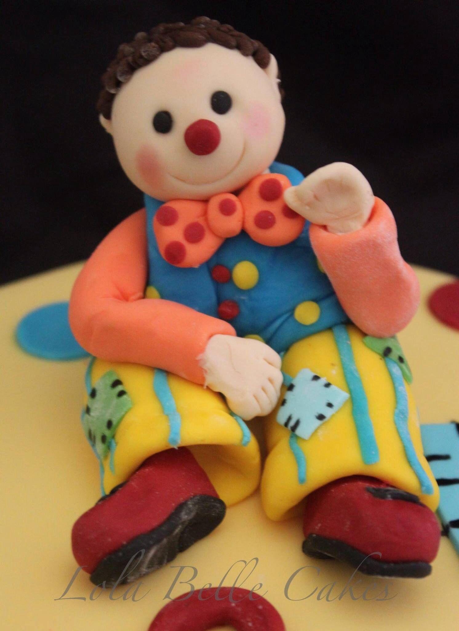 Mr Tumble cake topper Lola Belle Cakes Cake Toppers Pinterest
