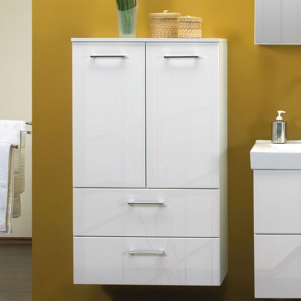 badschrank hochglanz weiss stunning trendteam badezimmer schrank kommode amanda x x cm in wei. Black Bedroom Furniture Sets. Home Design Ideas