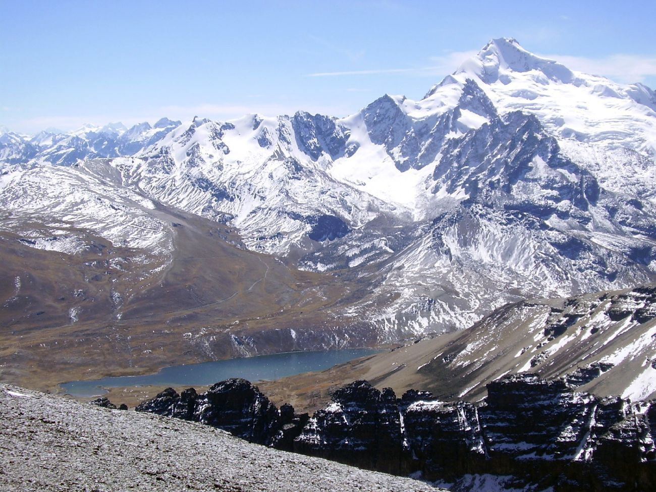 Bolivian Andes Bolivia Andes Mountains Andes
