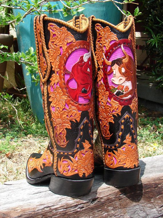 Custom Made Cowboy Boots - Cr Boot