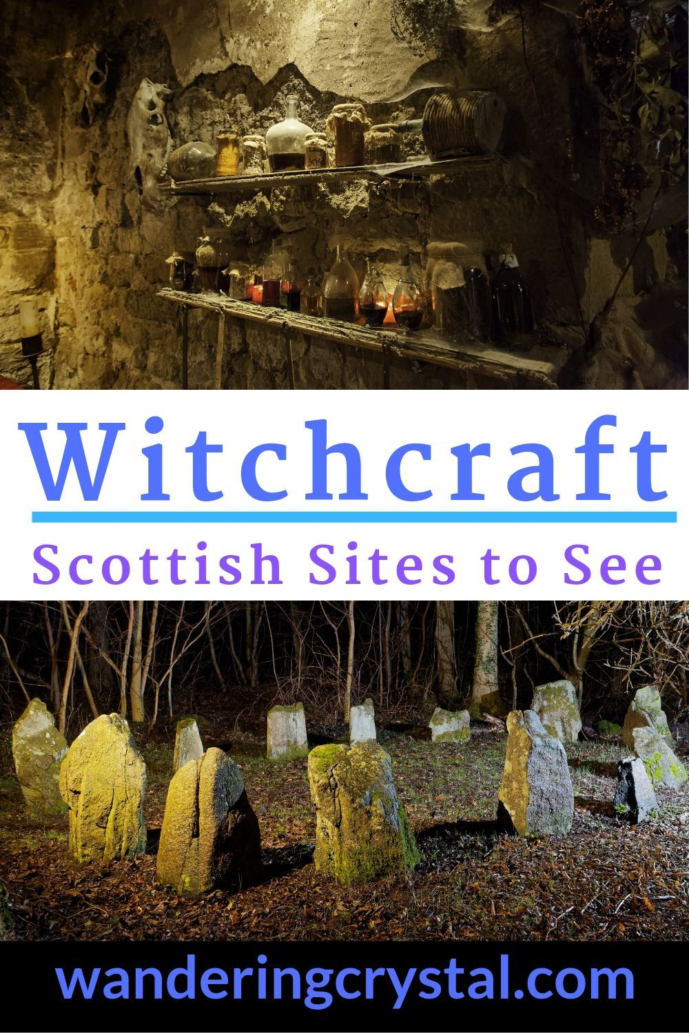 Witchcraft - Scottish Sites to See -  Witchcraft sites are located all over Scotland. Step back in time and experience what life was like during the Great Scottish Witch Hunt. #witchcraft #scotland #history #orkney