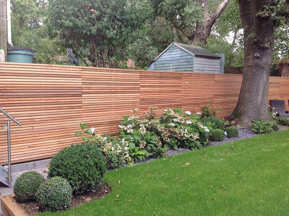 Cedar Modern Fence Modern Fence Backyard Fences Backyard