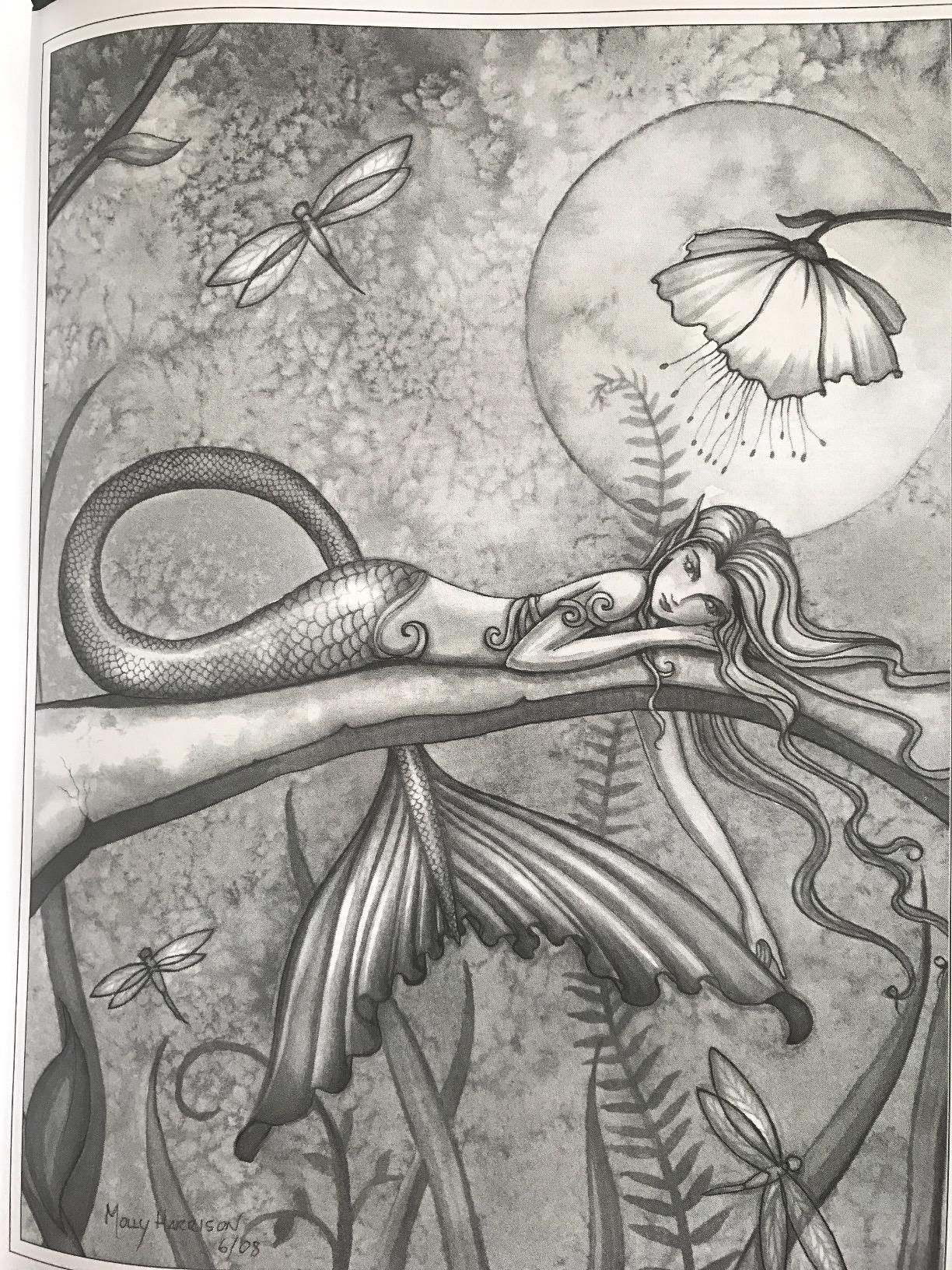 Pin By Paulina Ortiz On Coloring Pages Grayscale Coloring Books Mermaid Coloring Book Grayscale Coloring