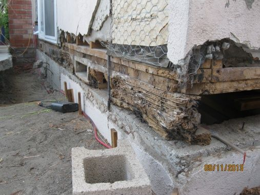 How To Replace A Rotted Sill In An Older Home House Floor