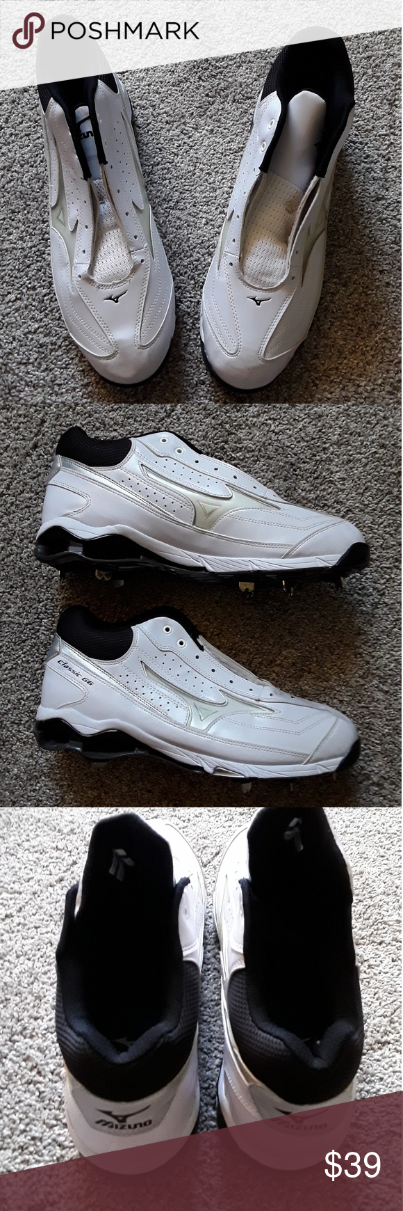 Mizuno Baseball Cleats Shoes Size 14 New Nwt Cleats Shoes Mizuno Shoes Baseball Cleats
