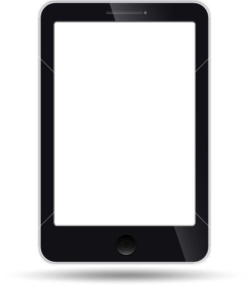 Tablet Vector Illustration Stock Image