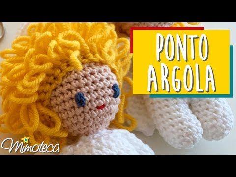 Boneca Amigurumi Rosa Chiclete Cabelo Castanho Claro no Elo7 ...   360x480