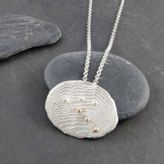 Ocean Bubbles silver pendant FirepanJewellery http://etsy.me/1S9xNEK #etsymntt #etsyspecialT #integrityTT #handmade