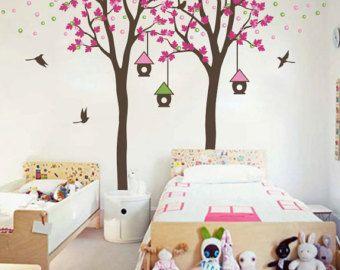 Kinderzimmer wanddekoration  Baum Wandtattoo Kinderzimmer Wanddekoration Baum von WallConsilia ...