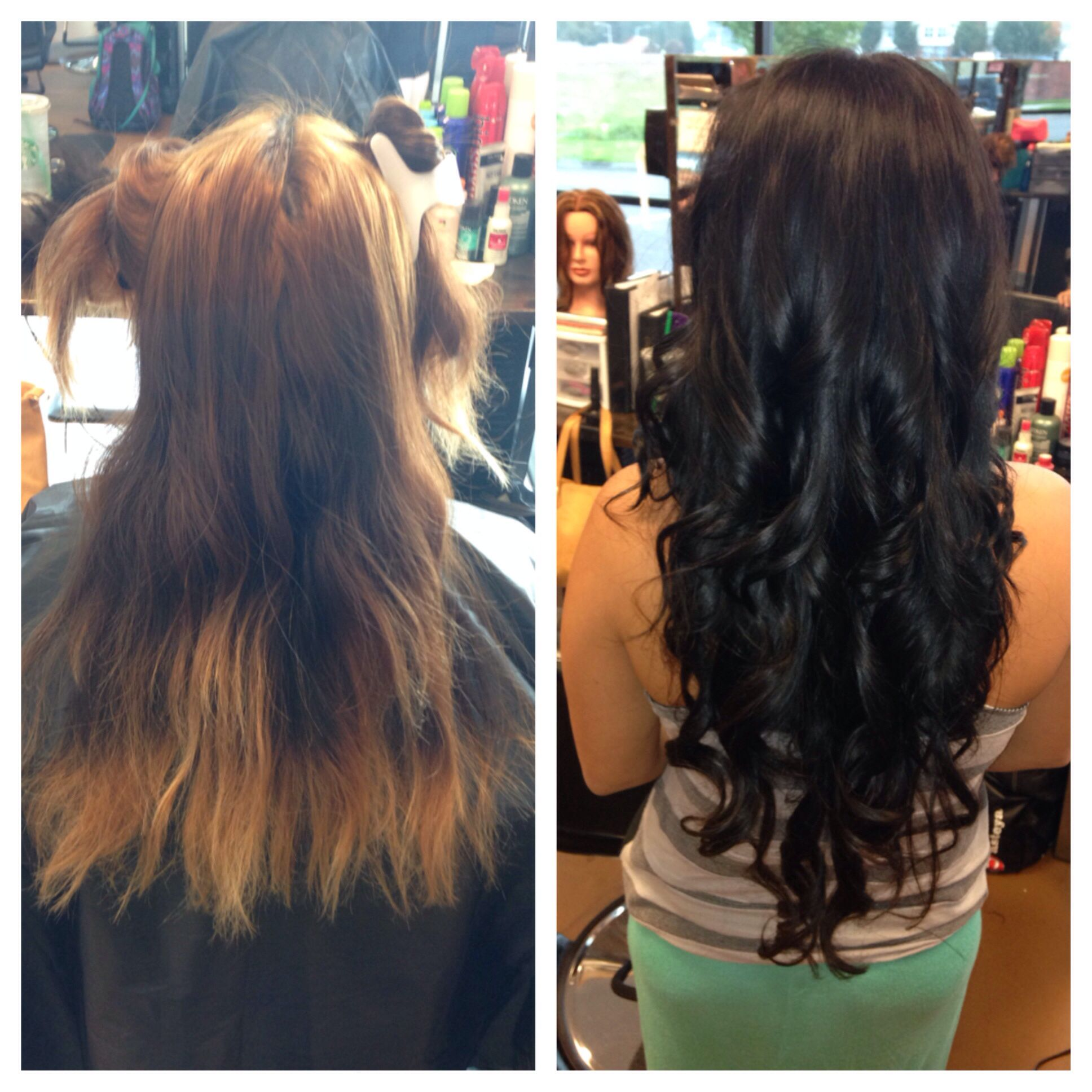 N and extensions humu by jen radcliffe hair pinterest