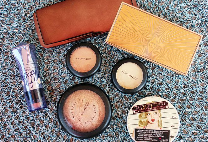 My favorite highlighters - get your glow on!