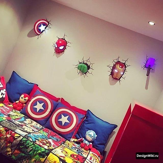 Детская Комната для Мальчика: 132 фото   Оформление комнат ...