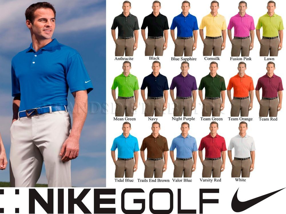 05aef5f8 5 Nike Golf Mens Dri Fit Micro Pique Polo Sport Shirt 363807 SXL NEW Colors  Lot #NikeGolf #PoloRugby