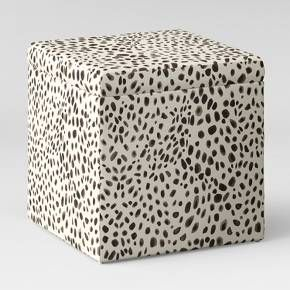 Designed to help keep household clutter at bay, this square storage ottoman has a hidden under-lid storage space that holds blankets, games and anything else you want to keep out of view. Available in a range of fabrics.
