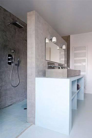 plan vasque faire soi m me en b ton bois carrelage. Black Bedroom Furniture Sets. Home Design Ideas