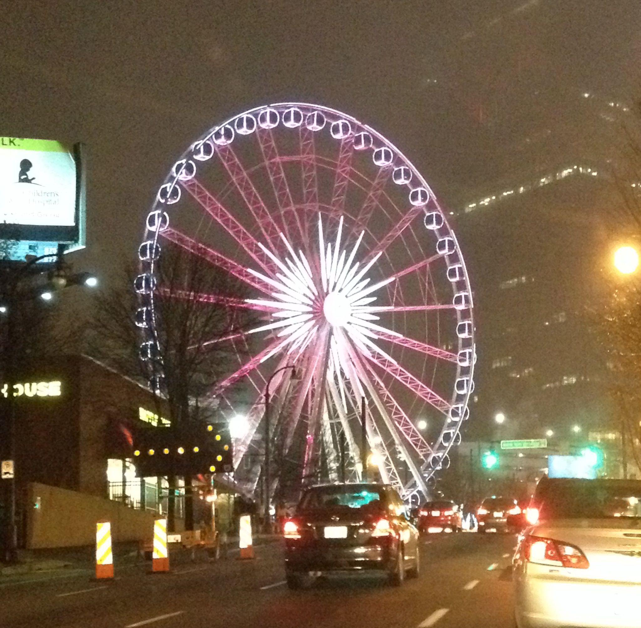 Ferris wheel in downtown Atlanta Ferris wheel, Fair