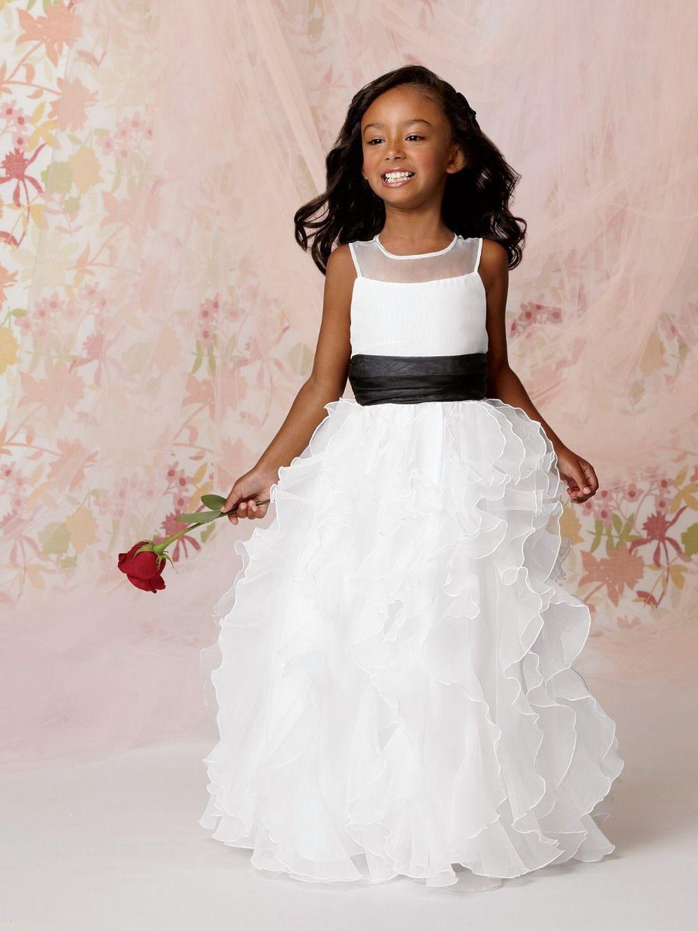 bloem meisje jurken