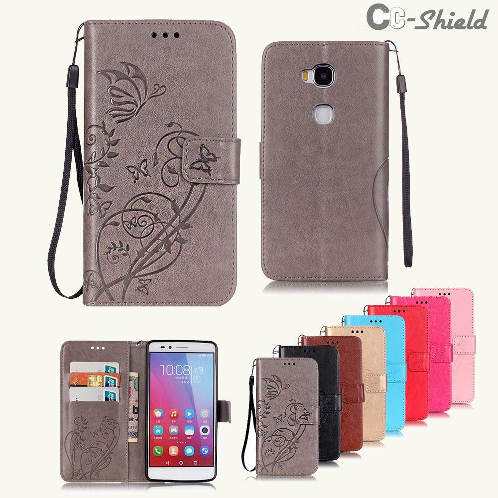 Flip Case for Huawei Honor 5X 5 X X5 / GR5 GR 5 KIW-L21 KIW