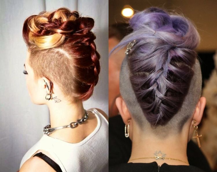 31 Ideas For Bridal Hairstyle With Undercut And Sidecut Haircuts