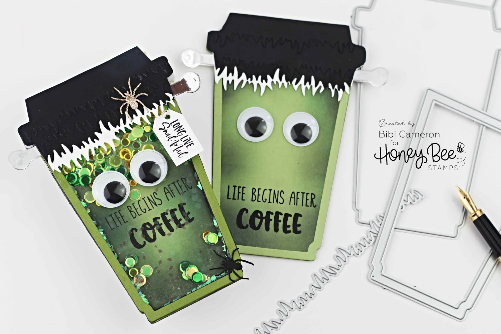 National Coffee Day Frankenstein Coffee Cup Gift Card